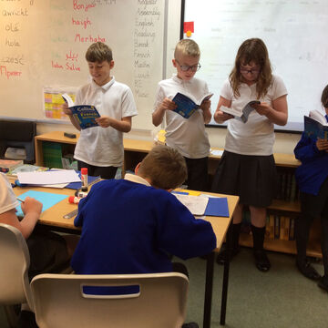 Sharing Dictionary Research In Class